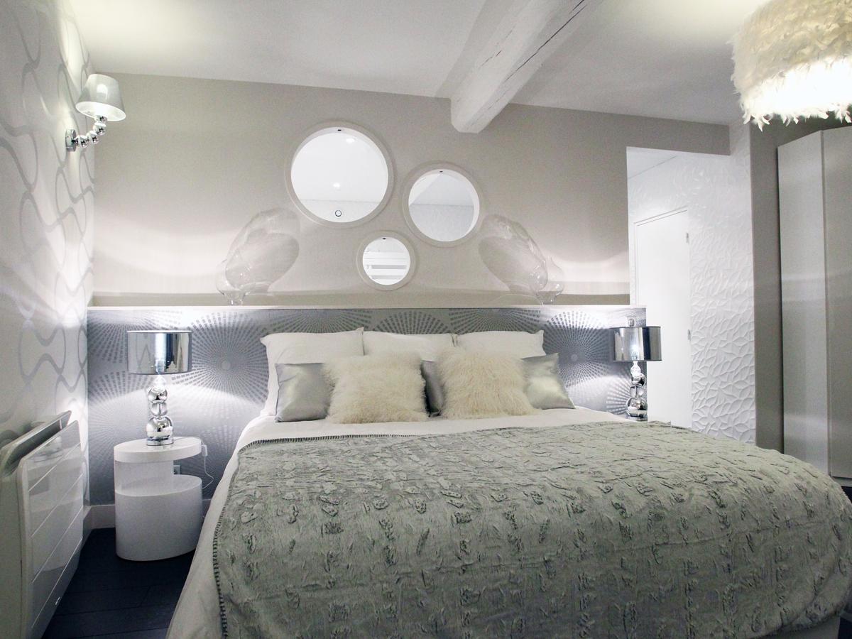 chambre d'hotes aux 5 sens, la salle de bain proche Beauvais