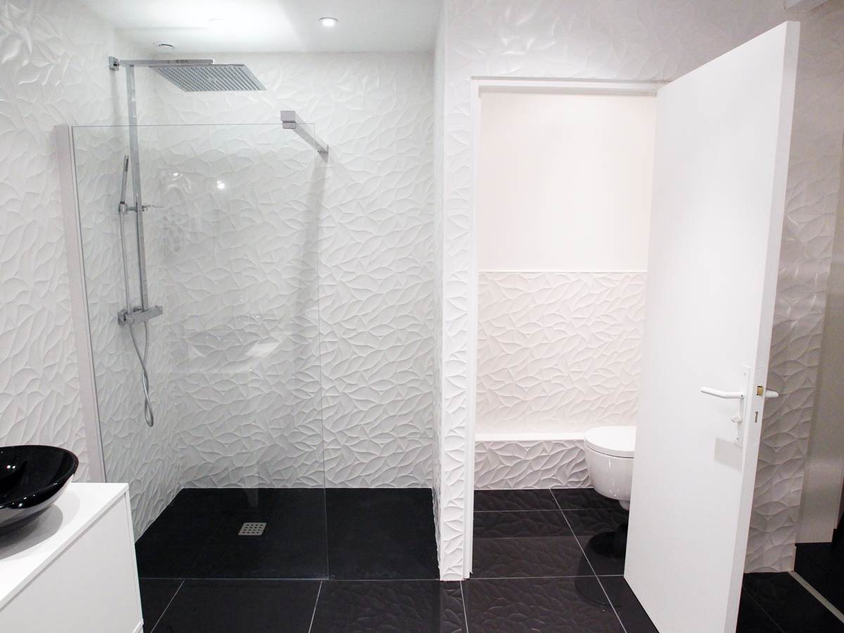 chambre d'hotes nuit blanche, la salle de bain