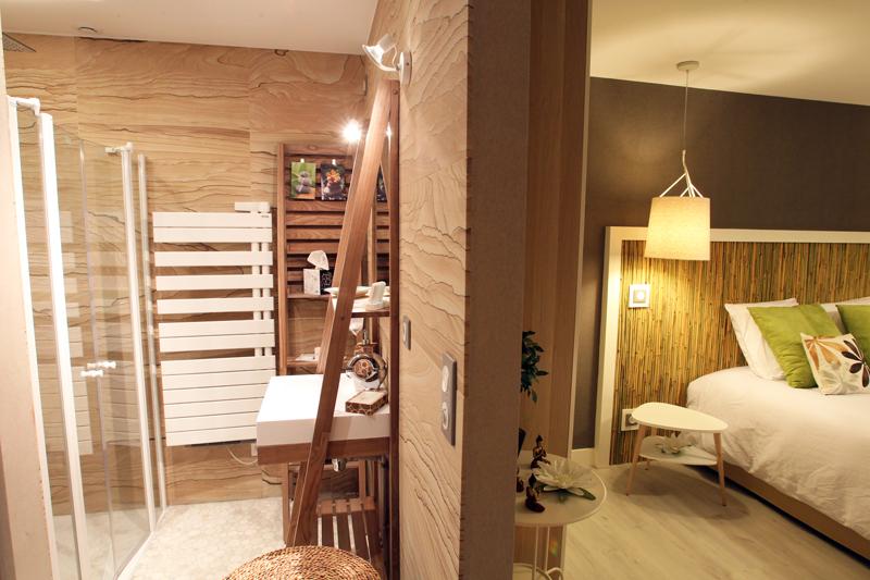 Chambre d h tes bambou dans l 39 oise en picardie for Salle de bain zen et naturelle