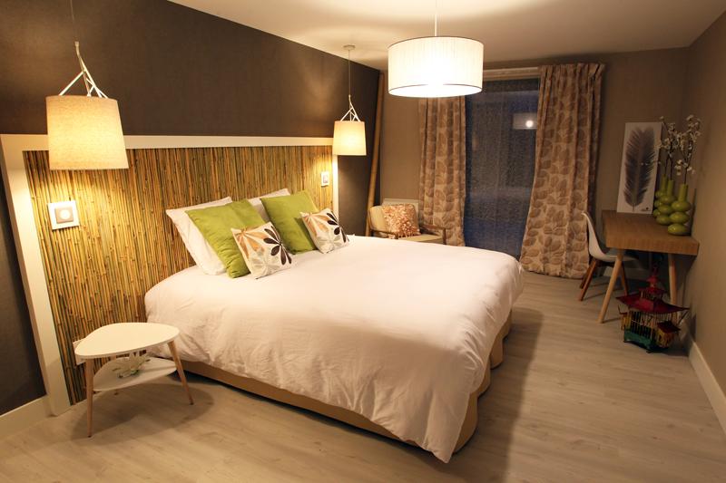 Chambre d h tes bambou dans l 39 oise en picardie - Chambre d hote couleur bois et spa ...